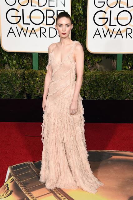 Rooney Mara Alexander McQueen Golden Globes 2016