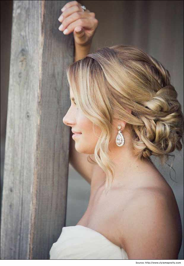 Loose Back Bun Hairstyles| Wedding Hair Style Tips