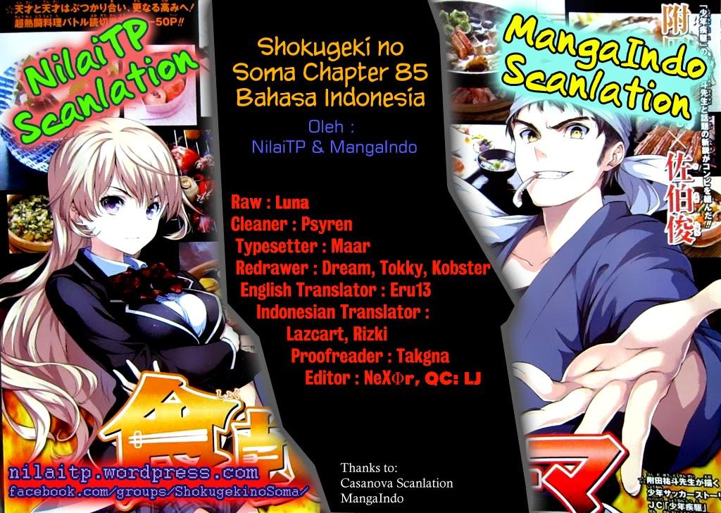 Dilarang COPAS - situs resmi www.mangacanblog.com - Komik shokugeki no soma 085 - rahasia gigitan pertama 86 Indonesia shokugeki no soma 085 - rahasia gigitan pertama Terbaru |Baca Manga Komik Indonesia|Mangacan