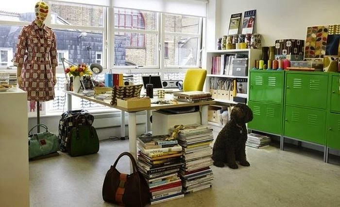 Workspaces Of The Greatest Artists Of The World (38 Pictures) - Orla Kiely, fashion designer