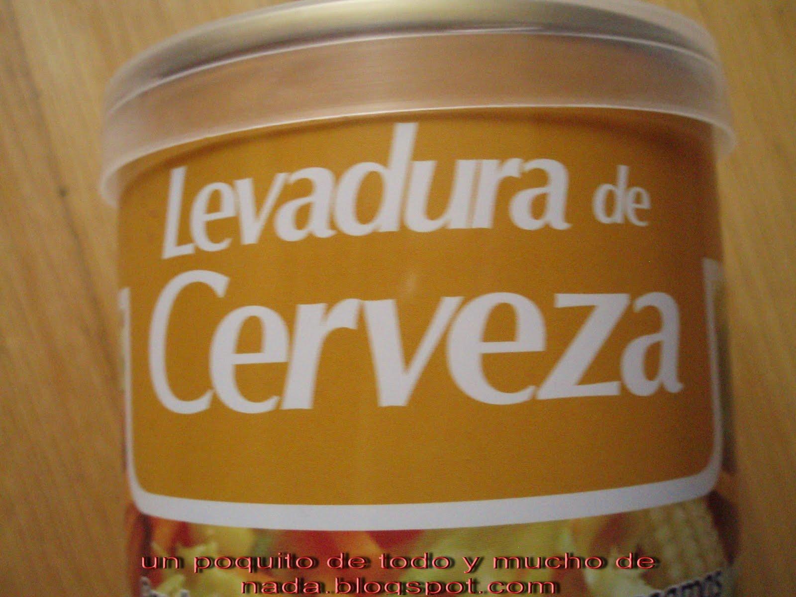 levadura cerveza propiedad:
