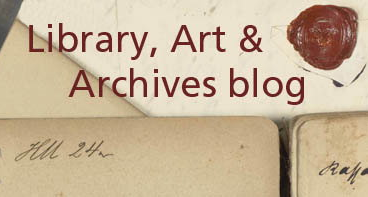 Kew's Library, Art and Archives blog