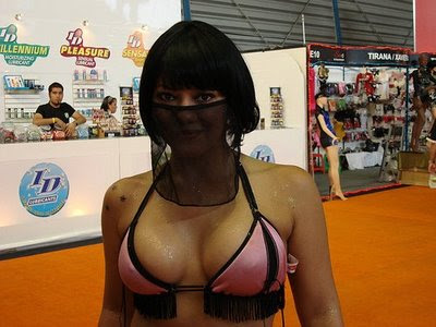 "���� ����� ������ ���� ����� ������.."" ������"" Saudi-Women-Bikini-Covering-Face.jpg"