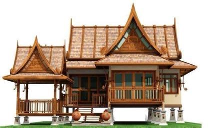 ເຮືອນຊົງລາວ Lao Traditional House