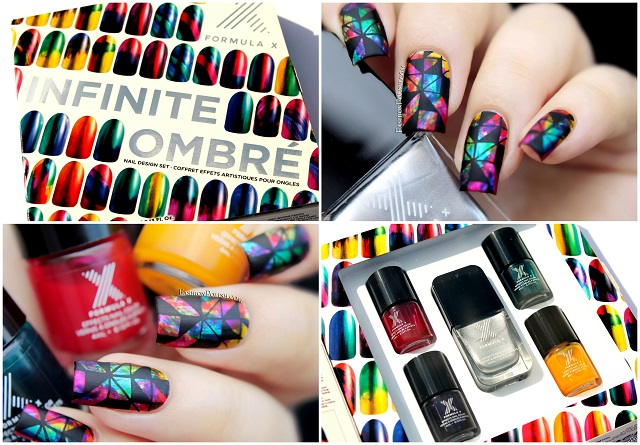Fashion Polish Sephora X Infinite Ombre Set Review And Abstract