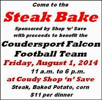 8-1 Steak Bake Benefits Falcons Football