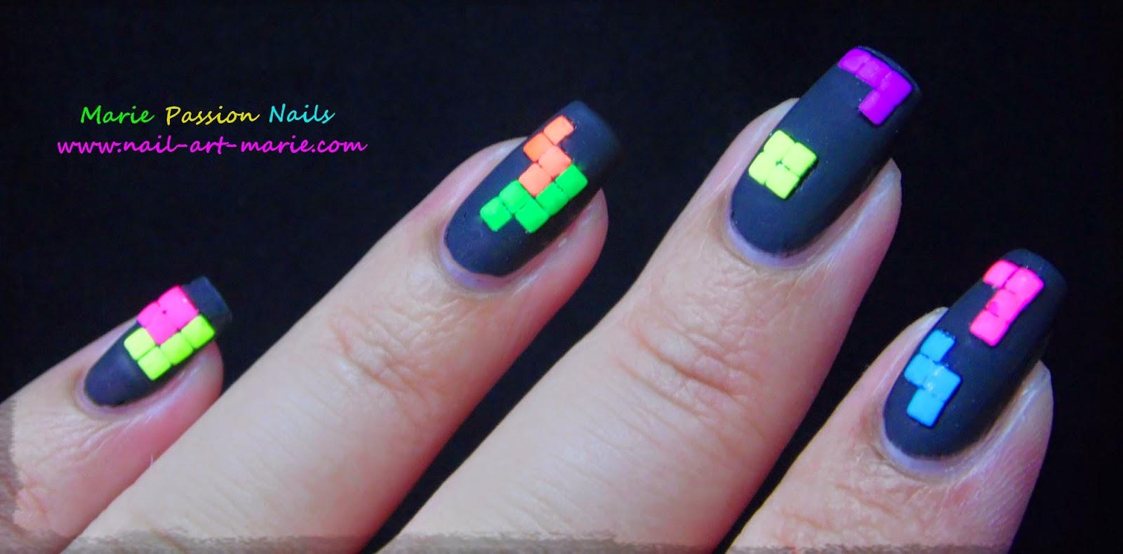 nail art tétris6
