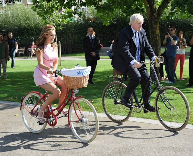 Kelly Brook – Mayor of London's Skyride Launch