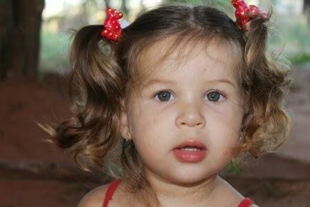 Nina, minha amada filhinha, 4 anos