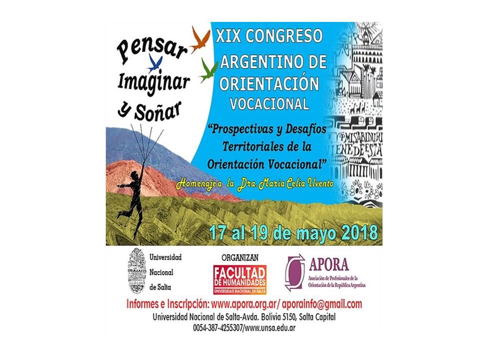 XIX Congreso Argentino de Orientación Vocacional en Salta
