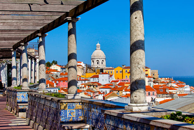 Miradouro Santa Luzia, Lisboa