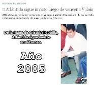 DT Club Atléntida - Paraguay 2005