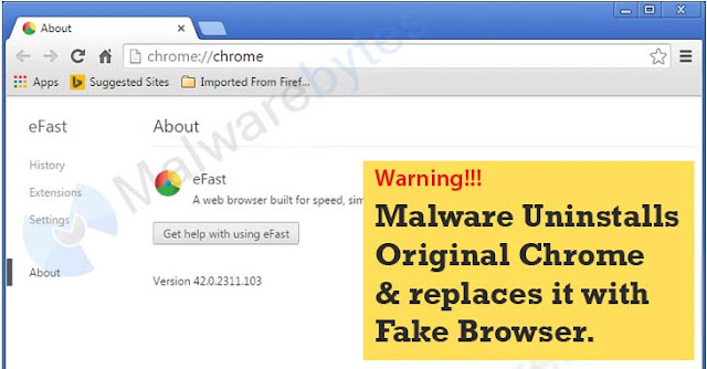 This Malware Can Delete and Replace Your Entire Chrome Browser with a lookalike.