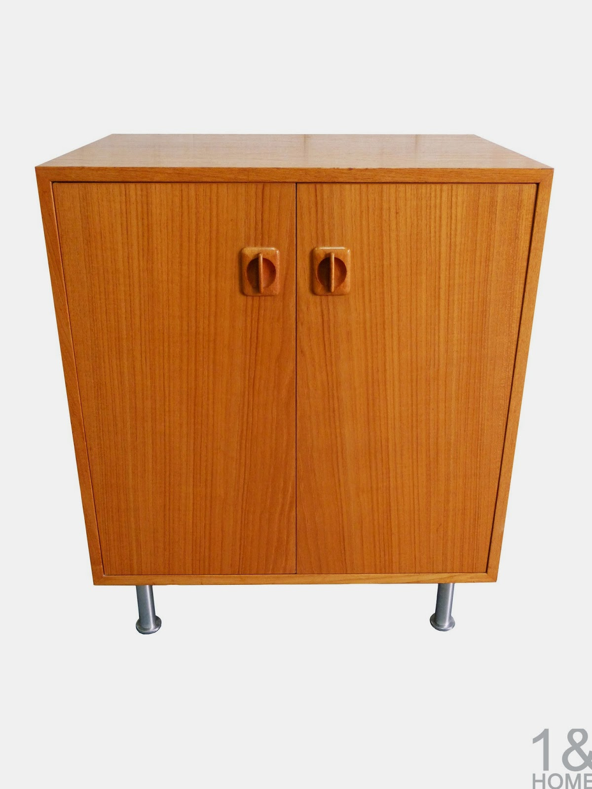 Danish Modern Teak Storage Cabinet / Side Table