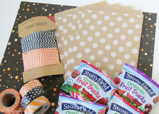 Halloween Treat Bag Supplies