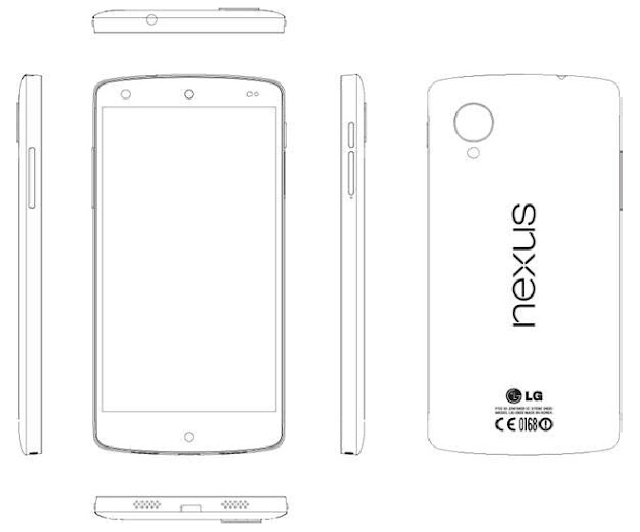 Google Nexus 5 sketch