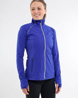 lululemon running stay on course jacket blue