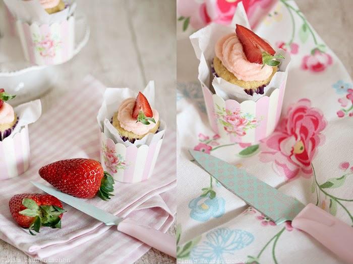 Erdbeer-Daiquiri-Cupcakes
