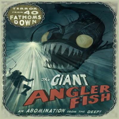 Museum Angler Fish Bioshock posters