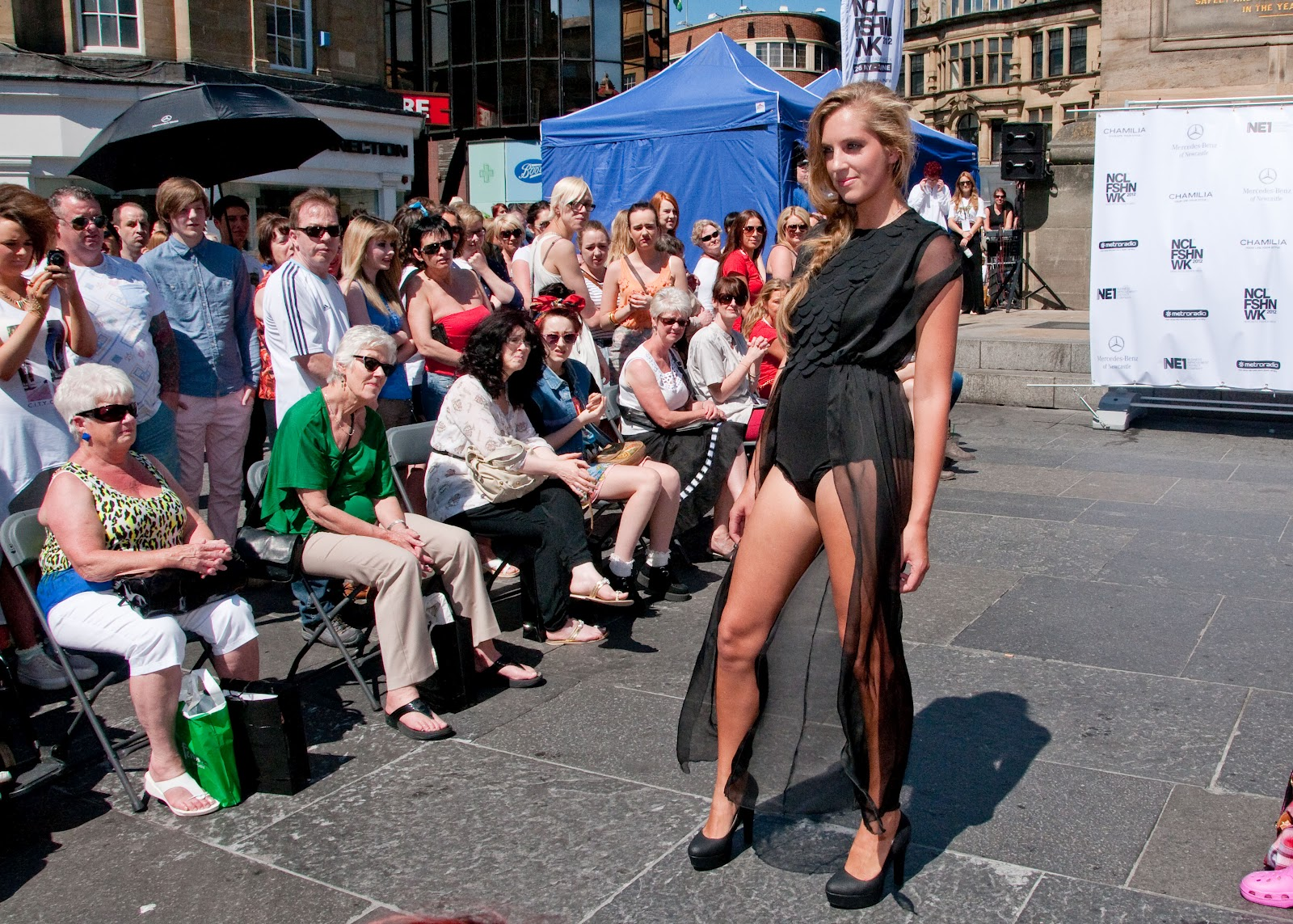 Newcastle college fashion show for newcastle fashion week for College fashion