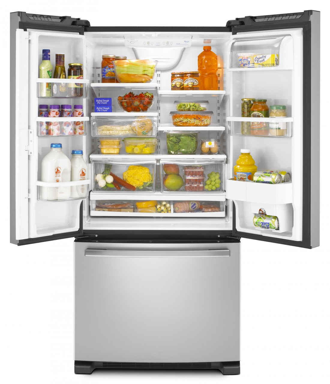 10 Refrigerators: Whirlpool Gold French Door Refrigerator GX2FHDXVY