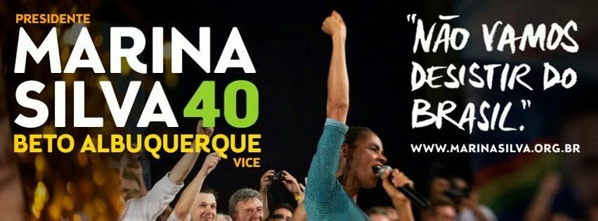 Não Vamos desistir do Brasil.