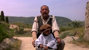 Philippe Noriet y Salvatore Cascio en Cinema Paradiso