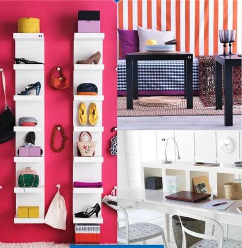 Hiasan Dalaman Bermotifkan Kepelbagaian Warna @ IKEA