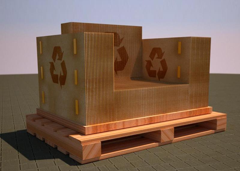 a-day: Productos reutilizados para el diseño de muebles