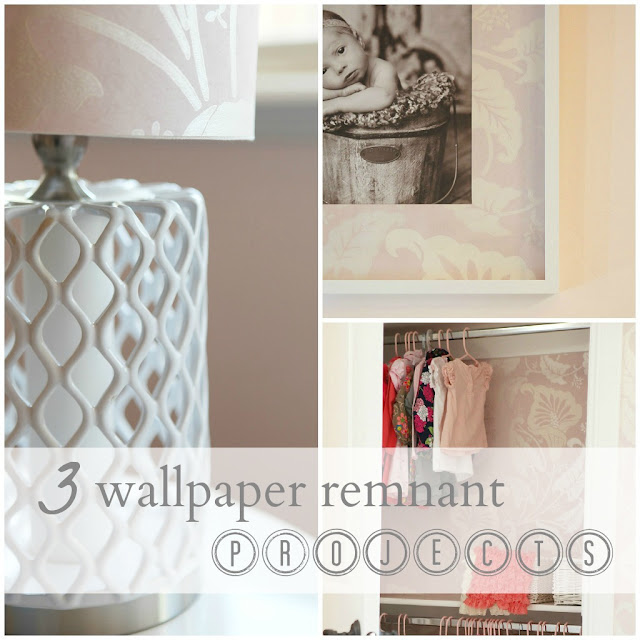 3 Wallpaper Remnant Projects DIY Brooke Jones Designs