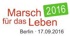 MARSCH für das LEBEN Berlin 17.09.2016