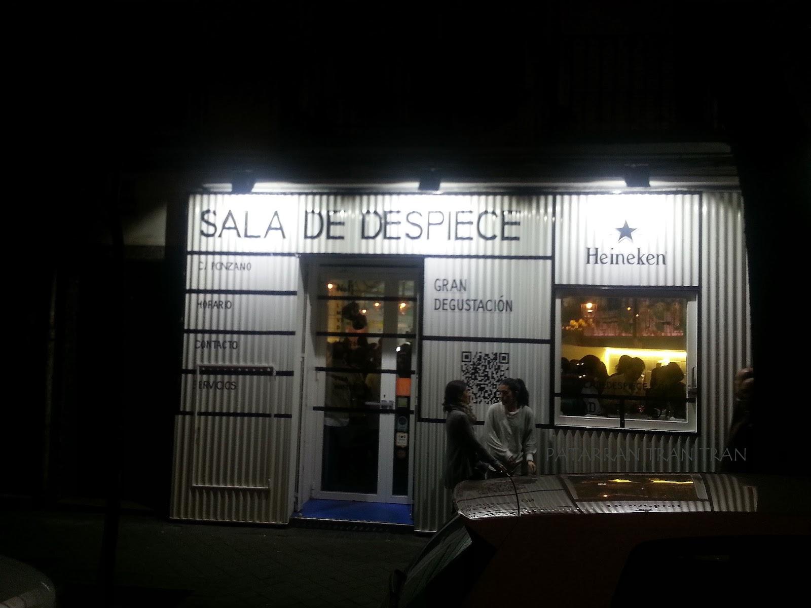 Sala de Despiece. Inspeccion Tabernaria. Calle Ponzano y aledaños