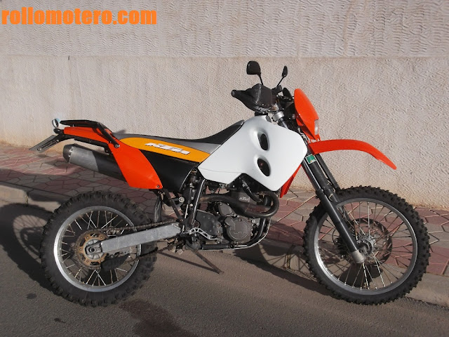 KTM 640 for travels