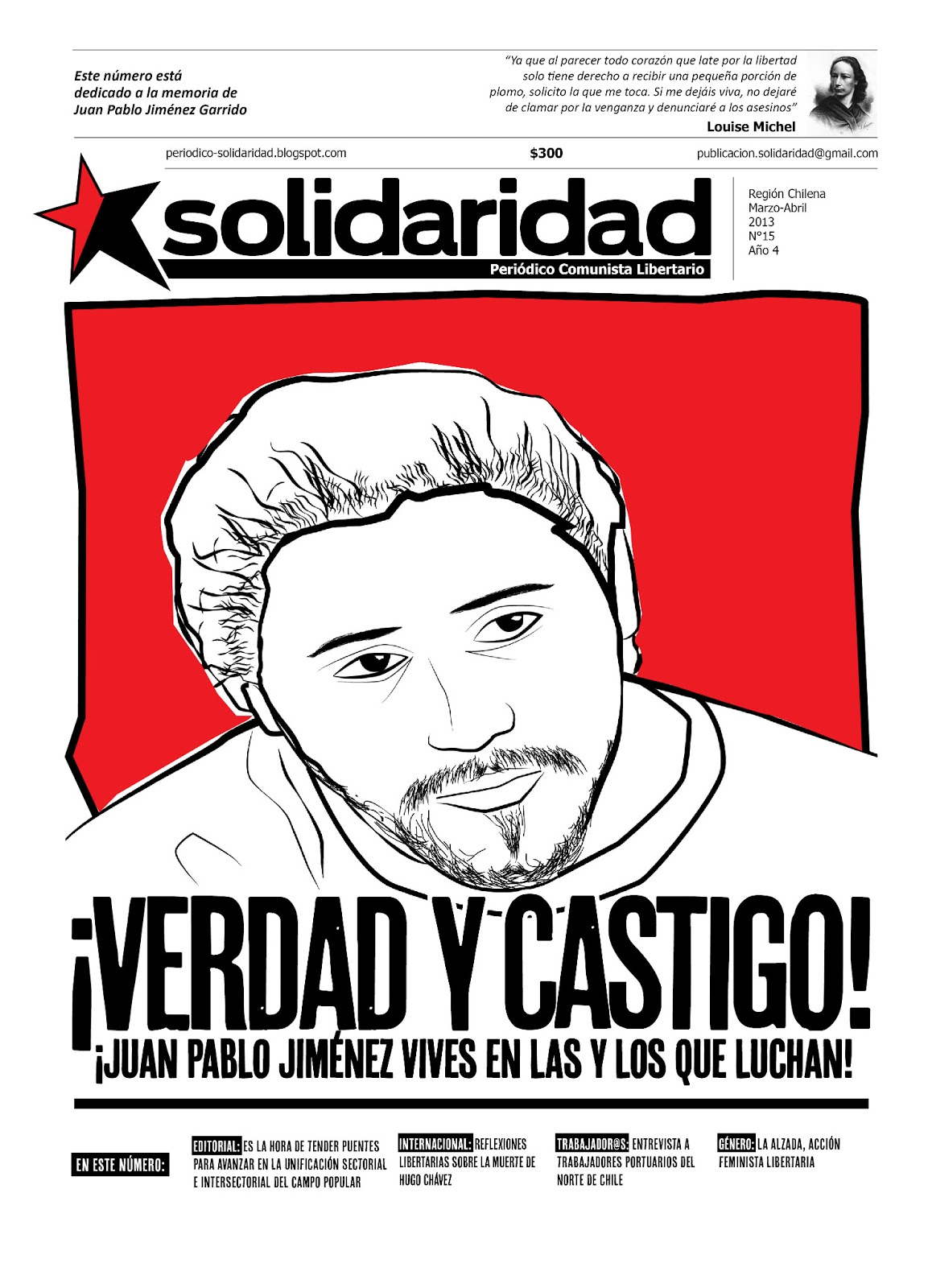 Periódico Solidaridad nº 15