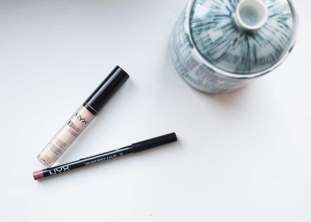 NYX Makeup Review Lip Liner Concealer
