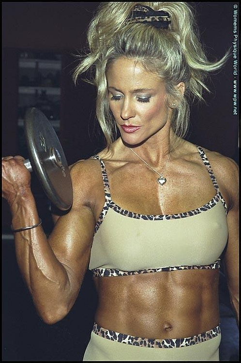 Cynthia Bridges Fitness Model
