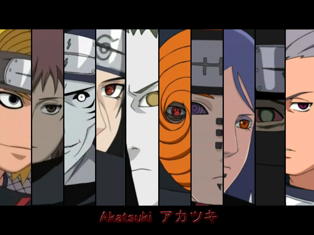 the best new wallpaper collection: naruto shippuden akatsuki team