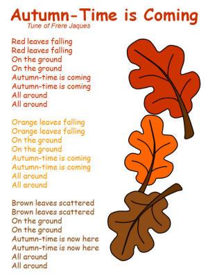 Autumn Lights Picture Leaves Poem