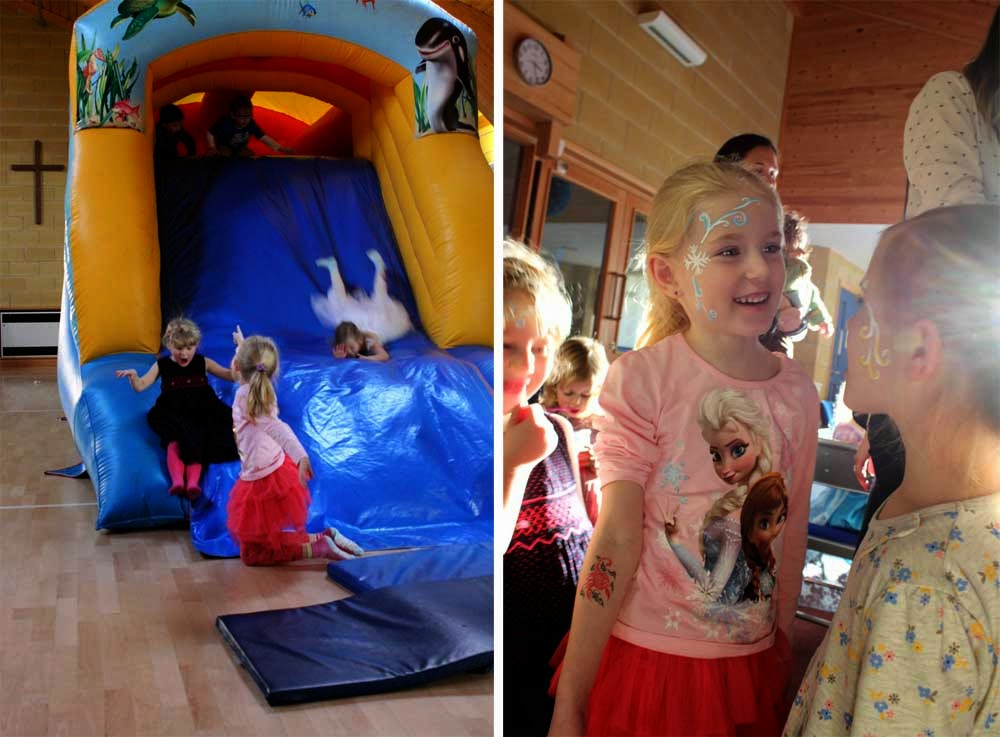 frozen party, party kids, birthday, face painting, todaymyway.com