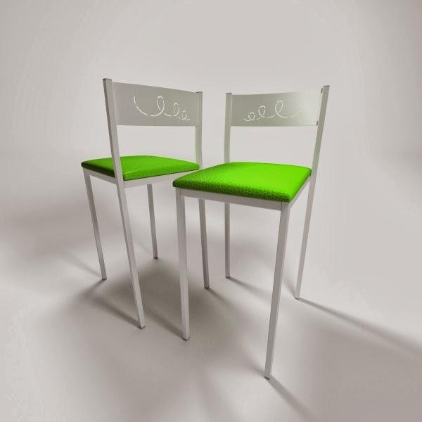 precio taburete verde