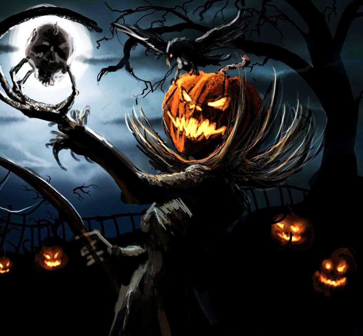 Facebook Twitter Halloween greetings and messages