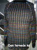 Sweater m. sildebens mønster