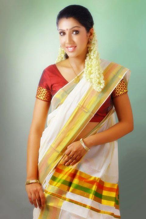 480 x 720 jpeg 50kB, Rosin Jolly In Set Saree Malayali House Anchor ...