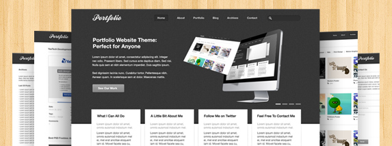 Free Website PSD Templates