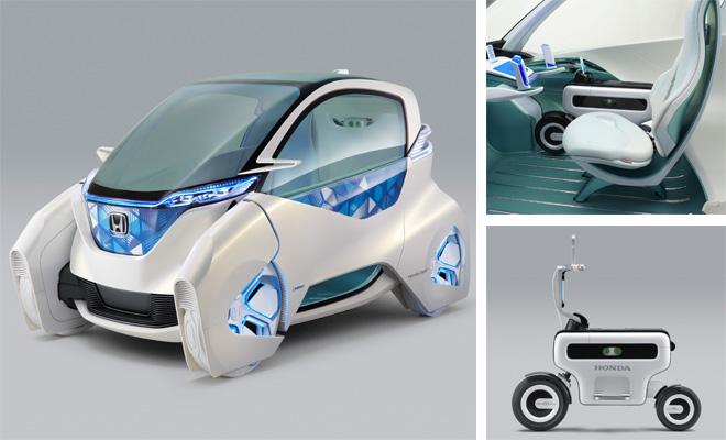 Honda Micro Commuter Concept plus Motor Compo bike