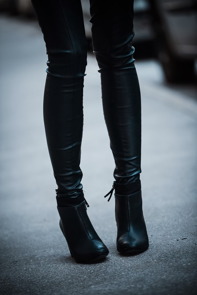 black ankle boots bershka, style blogger, fashion blogger