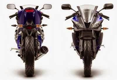 Desain Yamaha R125