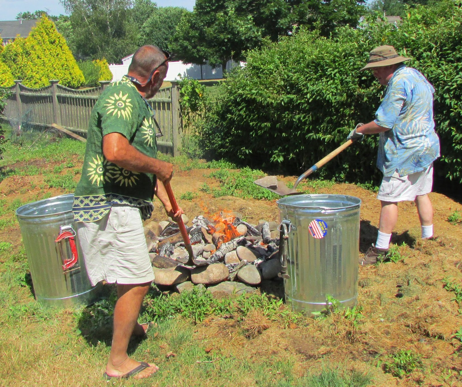 mike martel u0027s blog a clam bake in a barrel for the salty dawgs