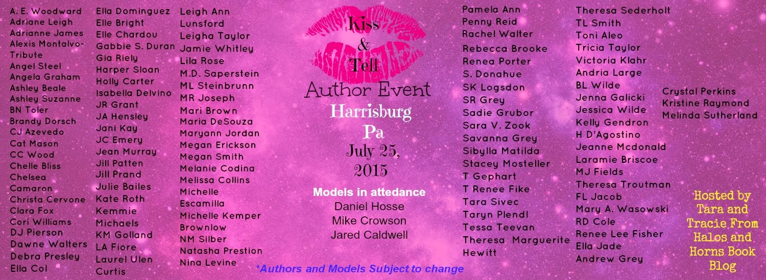 Kiss and Tell Author Event