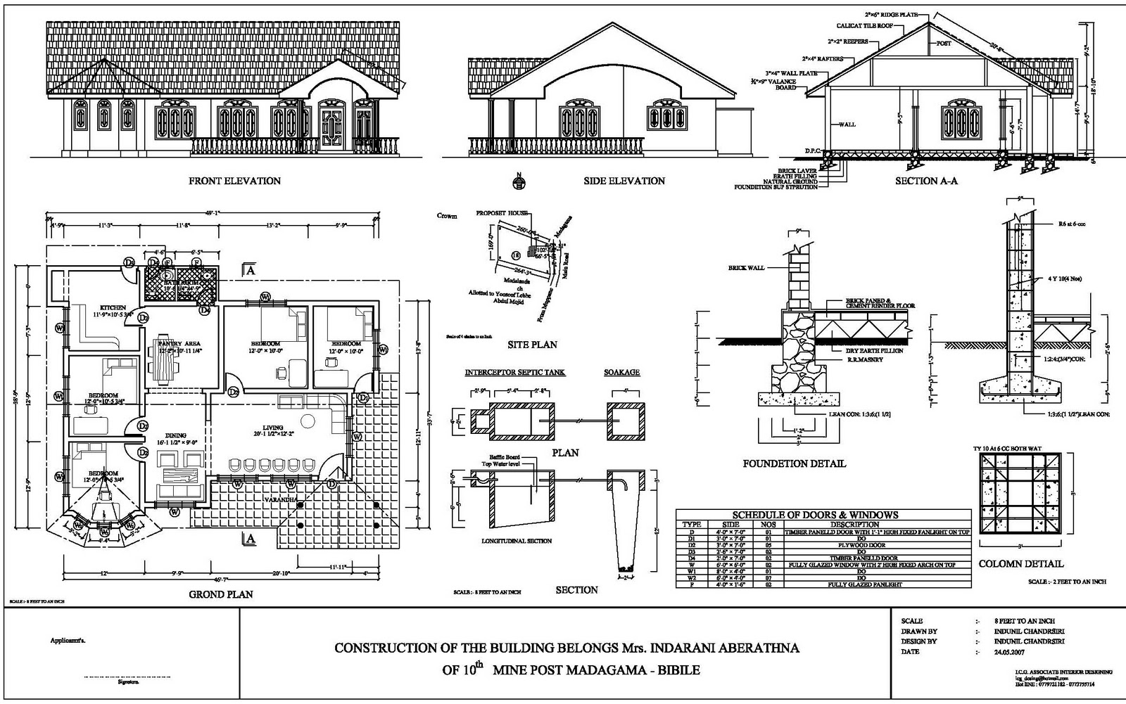 Sri Lanka House Plans on Sri Lanka Home Plans
